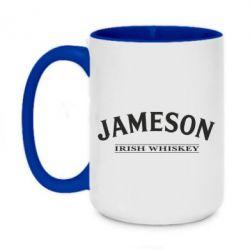 Кружка двухцветная 420ml Jameson - FatLine