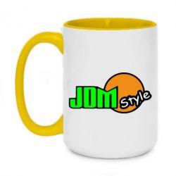 Кружка двоколірна 420ml JDM Style