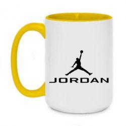 Кружка двоколірна 420ml Jordan