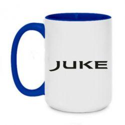 Кружка двухцветная 420ml Juke
