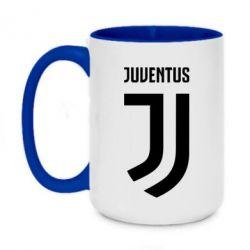 Кружка двухцветная 420ml Juventus Logo