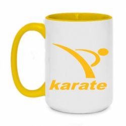 Кружка двухцветная 420ml Karate