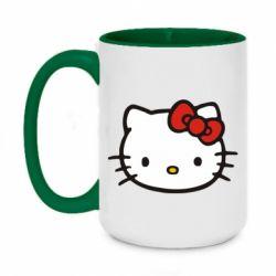 Кружка двухцветная 420ml Kitty