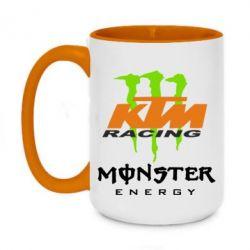 Кружка двухцветная 420ml KTM Monster Enegry