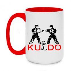 Кружка двухцветная 420ml Kudo Fight