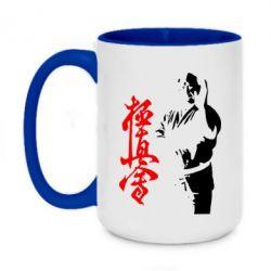 Кружка двоколірна 420ml Kyokushin Kanku Master