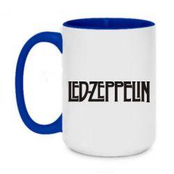 Кружка двоколірна 420ml Led Zeppelin