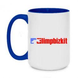 Кружка двоколірна 420ml Limp Bizkit
