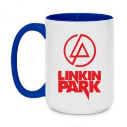 Кружка двухцветная 420ml Linkin Park - FatLine