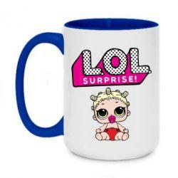 Кружка двоколірна 420ml LoL surprise baby