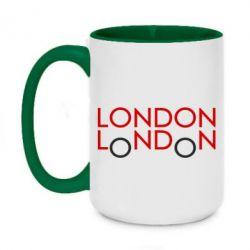 Кружка двоколірна 420ml London