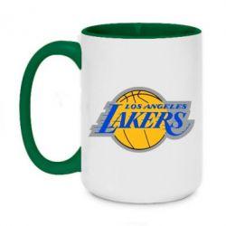 Кружка двоколірна 420ml Los Angeles Lakers