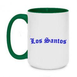 Кружка двоколірна 420ml Los Santos