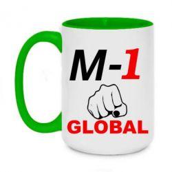Кружка двухцветная 420ml M-1 Global