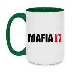 Кружка двухцветная 420ml Mafia 2