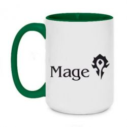 Кружка двоколірна 420ml Mage World of Warcraft