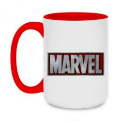 Кружка двоколірна 420ml Marvel 3D