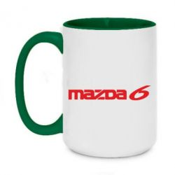 Кружка двухцветная 420ml Mazda 6