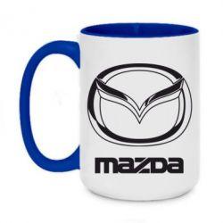 Кружка двухцветная 420ml Mazda Small
