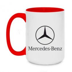 Кружка двухцветная 420ml Mercedes Benz
