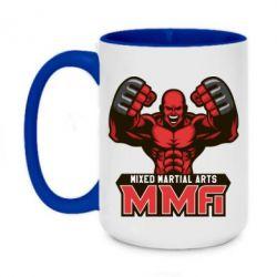 Кружка двоколірна 420ml MMA Fighter 2