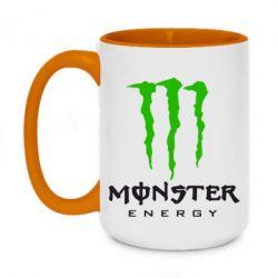 Кружка двоколірна 420ml Monster Energy Classic