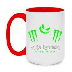Кружка двоколірна 420ml Monster Energy Halloween