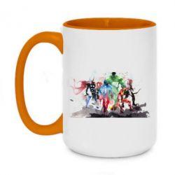 Кружка двухцветная 420ml Мстители Арт