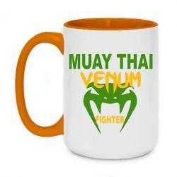Кружка двухцветная 420ml Muay Thai Venum Fighter