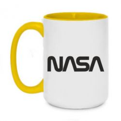 Кружка двоколірна 420ml NASA logo