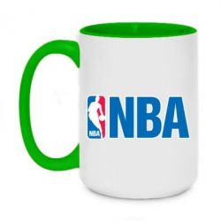 Кружка двухцветная 420ml NBA Logo