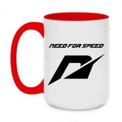 Кружка двухцветная 420ml Need For Speed Logo
