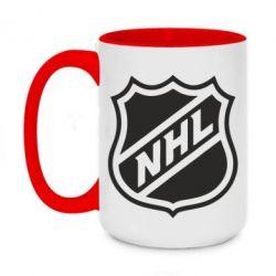 Кружка двухцветная 420ml NHL - FatLine