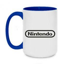 Кружка двоколірна 420ml Nintendo logo