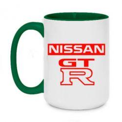 Кружка двоколірна 420ml Nissan GT-R