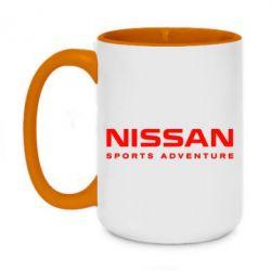 Кружка двоколірна 420ml Nissan Sport Adventure