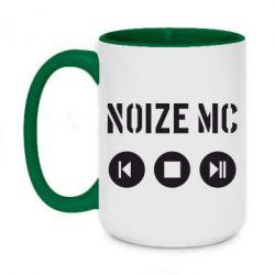 Кружка двухцветная 420ml Noize MC player