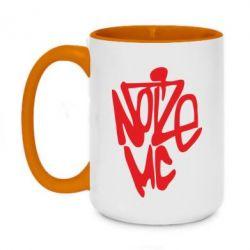 Кружка двухцветная 420ml Noize MC