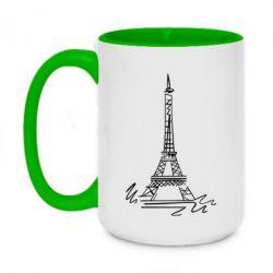 Кружка двухцветная 420ml Paris