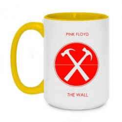 Кружка двоколірна 420ml Pink Floyd The Wall