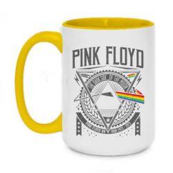 Кружка двоколірна 420ml Pink Floyd