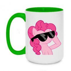Кружка двухцветная 420ml Pinkie Pie Cool