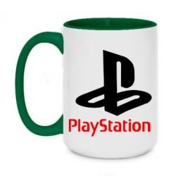 Кружка двоколірна 420ml PlayStation - FatLine