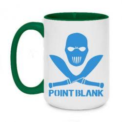 Кружка двухцветная 420ml Point Blank - FatLine