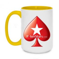 Кружка двоколірна 420ml Poker Stars Game