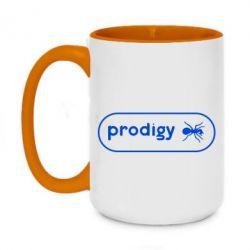 Кружка двоколірна 420ml Prodigy Логотип