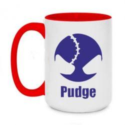 Кружка двухцветная 420ml Pudge - FatLine