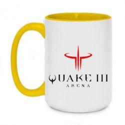 Кружка двухцветная 420ml Quake 3 Arena