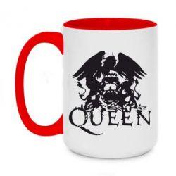Кружка двоколірна 420ml Queen