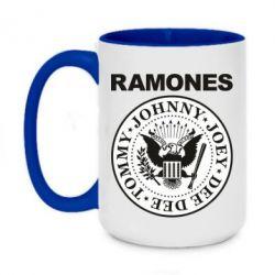 Кружка двоколірна 420ml Ramones
